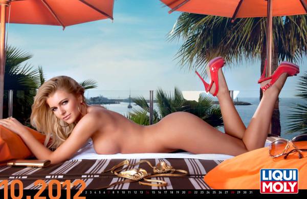 LIQUI MOLY Erotik-Kalender 2012 – tiefe Einblicke