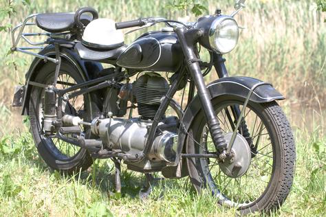 Motorrad Oldtimer Rarität